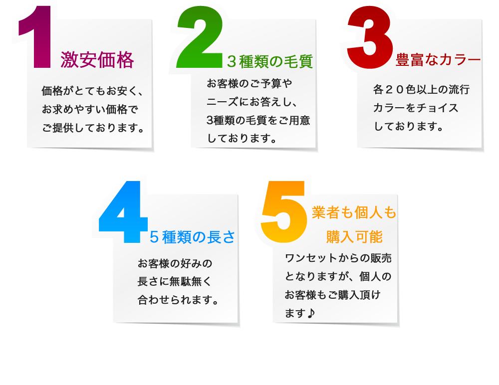 LU-SEAL シールエクステ5つの特徴